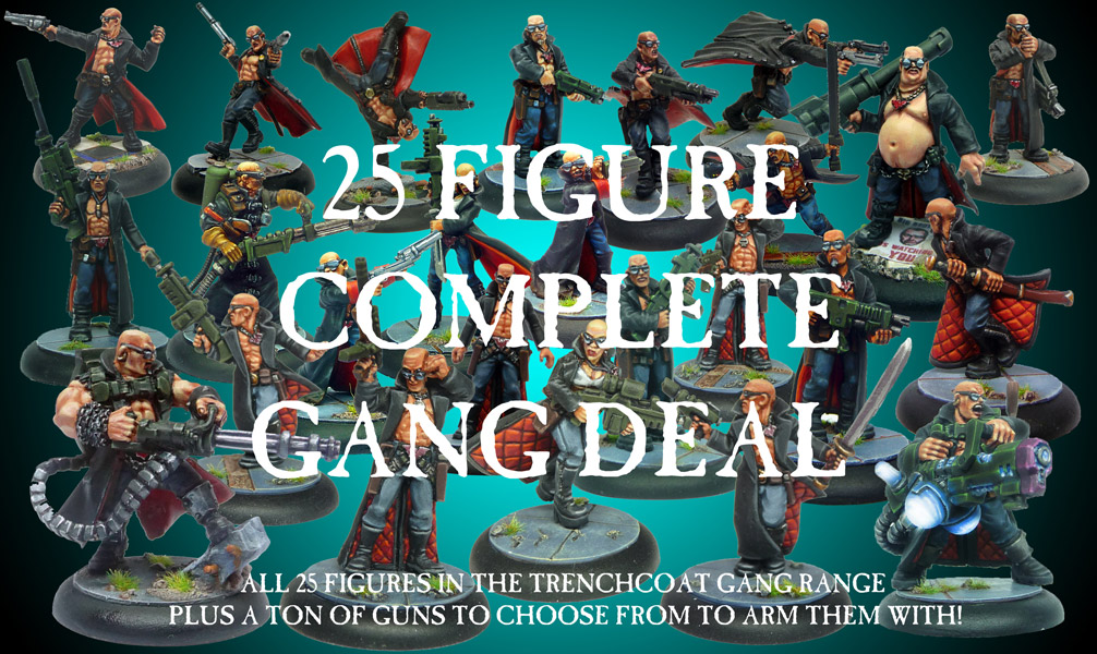 25 Figure Complete Gang Collection Super Deal